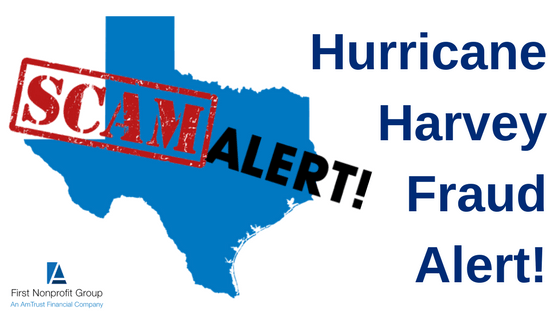Hurricane Harvey Fraud Alert!